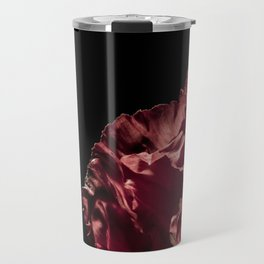 Red Iceland Poppy Detailed Photograph Travel Mug