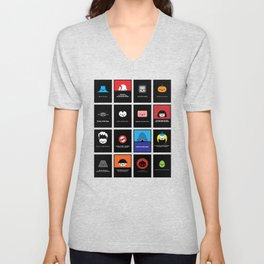 Cute Movie Posters Unisex V-Neck