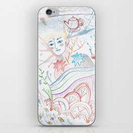 Easy Uneasy iPhone Skin