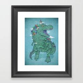 Las Peñas Framed Art Print