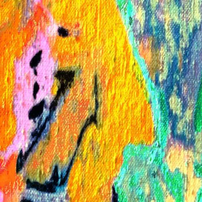 painting selfportrait selfie Leggings