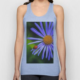 The runway of a ladybird Unisex Tank Top