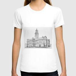 Wayne County Court House | Detroit Michigan T-shirt