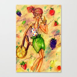 Banana Phone Canvas Print