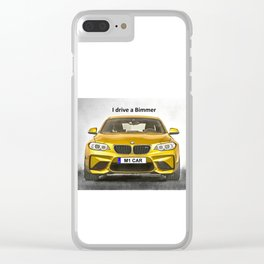 A Bimmer car Clear iPhone Case