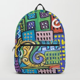 Pretty City two Backpack