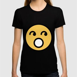 Smiley Face   Rolling Eyes T-shirt
