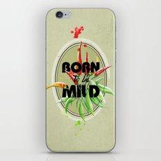 Born to be Mild iPhone & iPod Skin