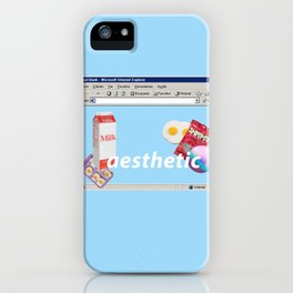 aesthetic mix iPhone Case