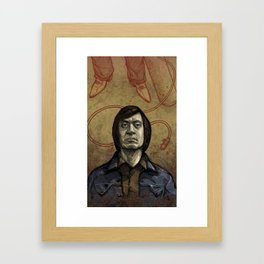 Chigurh Framed Art Print