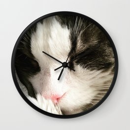 A Peaceful Slumber Wall Clock