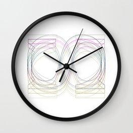 S-ymbolism Wall Clock