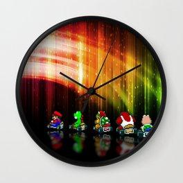 Super Mario Kart - Pixel art Wall Clock
