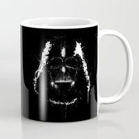vader Mugs featuring Vader by Purple Cactus