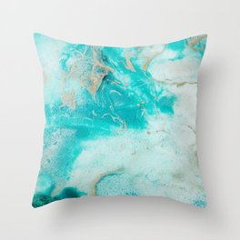 "Tides of Change | ""Sand Bar"" (1) Throw Pillow"
