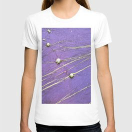 abstract planet constellation T-shirt