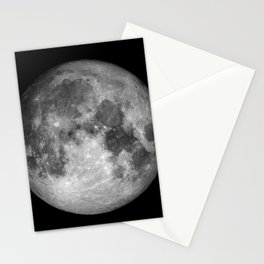 Moon Full Stationery Cards