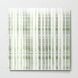 thin green line Metal Print