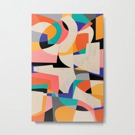 ColorShot III Metal Print