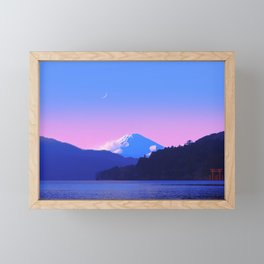 Mount Fuji Sunrise Framed Mini Art Print