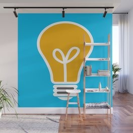 Let Your Light(bulb) Shine Wall Mural