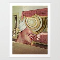snailhead Art Print