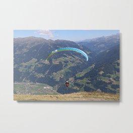 skydiving tirol Metal Print
