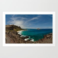 Makapuu Point Art Print