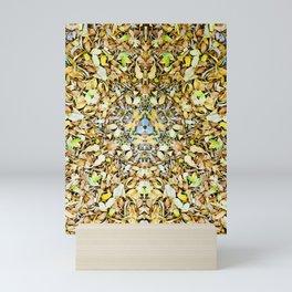 A Circle of Leaves Mini Art Print