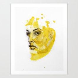 Portrait of Hailey Art Print