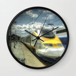 Marseilles Eurostar Wall Clock