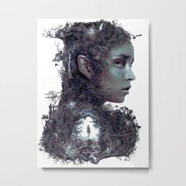 Entering the Dark Elf Realm Metal Print