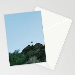 Arizona Desert Moon Stationery Cards