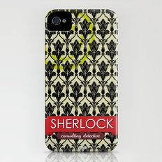 Sherlock Poster 1 Slim Case iPhone (4, 4s)