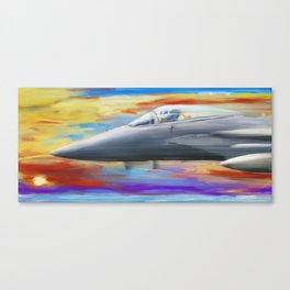 Jetfighter speed Canvas Print