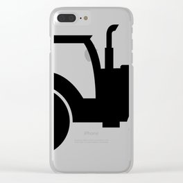 tractor Clear iPhone Case