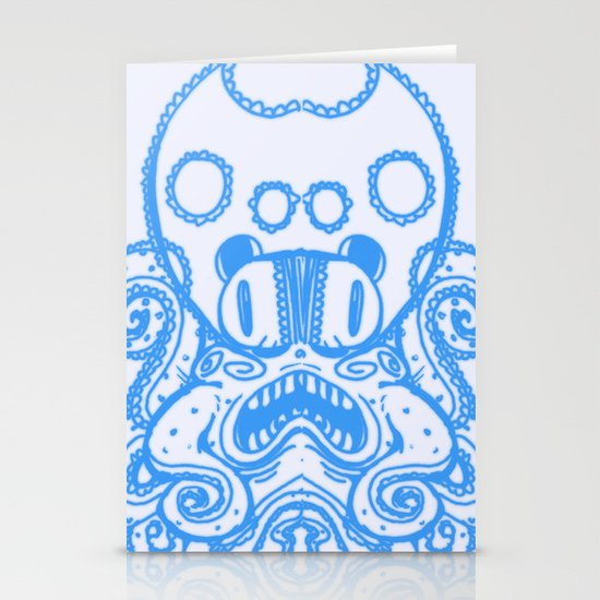 Fat Squid Stationery Cards