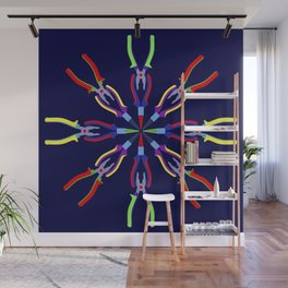 Pliers Design Wall Mural