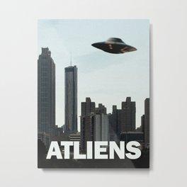 ATLIENS Metal Print