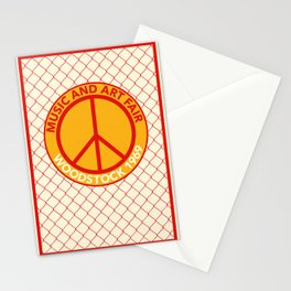 WOODSTOCK MUSIC AND ART FAIR 1969 Stationery Cards