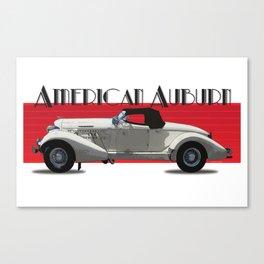 American Auburn Canvas Print