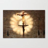 jesus Canvas Prints featuring Jesus by Joe Pansa