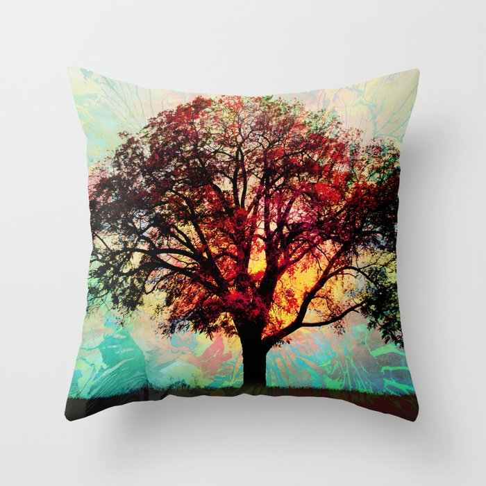 Fall Tree 2 Throw Pillow