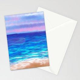 Sky, Sand and Sea Stationery Cards