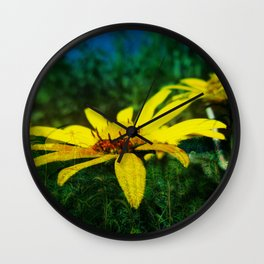 Juxtaposed Prairie Wall Clock