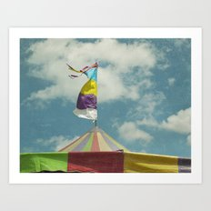 Big Top #6 Art Print