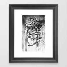 Lies. Layers of Lies.  Framed Art Print