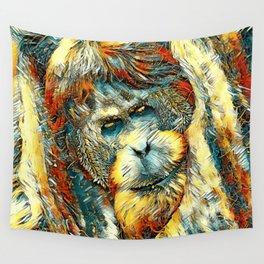 AnimalArt_OrangUtan_20170901_by_JAMColorsSpecial Wall Tapestry