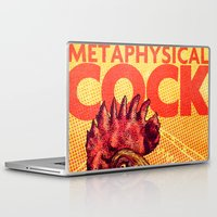 cock Laptop & iPad Skins featuring Metaphysical Cock by Rafael T. Pimentel