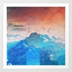 Fractions A77 Art Print